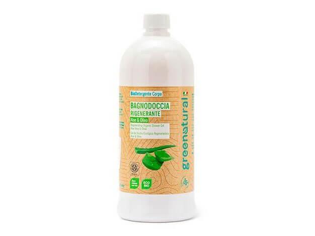 Bagnodoccia Aloe & Olivo - ecobio - 1 l - greenatural